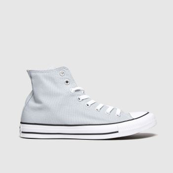 Converse Light Grey All Star Ctas Hi Womens Trainers