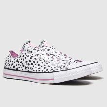 Converse All Star Ox Dalmatian 1