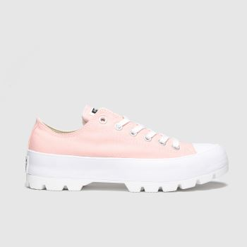 Converse Pink All Star Lugged Ox Womens Trainers