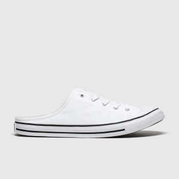 Converse White All Star Dainty Mule Womens Trainers