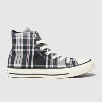 Converse Black & White Hi Womens Trainers