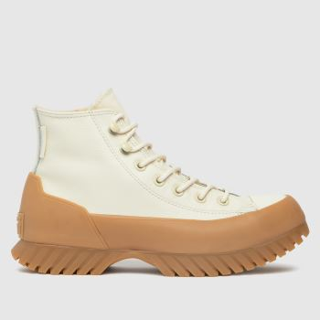 Converse White Lugged Winter 2.0 Hi Womens Trainers