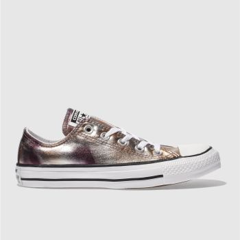 CONVERSE BRONZE ALL STAR OX TRAINERS