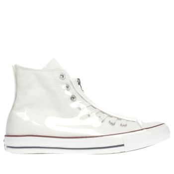 Converse White Shroud Translucent Hi Womens Trainers