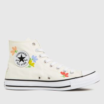 Converse Stone Star Garden Party Womens Trainers