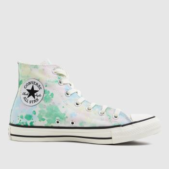 Converse Green Summer Fest Patch Hi Womens Trainers
