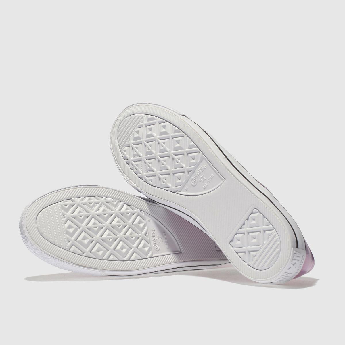 Damen Pink Iridescent converse All Star Coral Iridescent Pink Ox Sneaker | schuh Gute Qualität beliebte Schuhe 805ba9