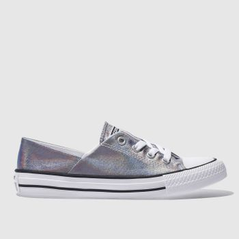 Converse Lilac Coral Iridescent Ox Womens Trainers