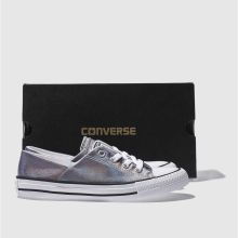 Converse coral iridescent ox 1