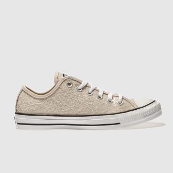 Converse Stone All Star Glitter Ox Womens Trainers