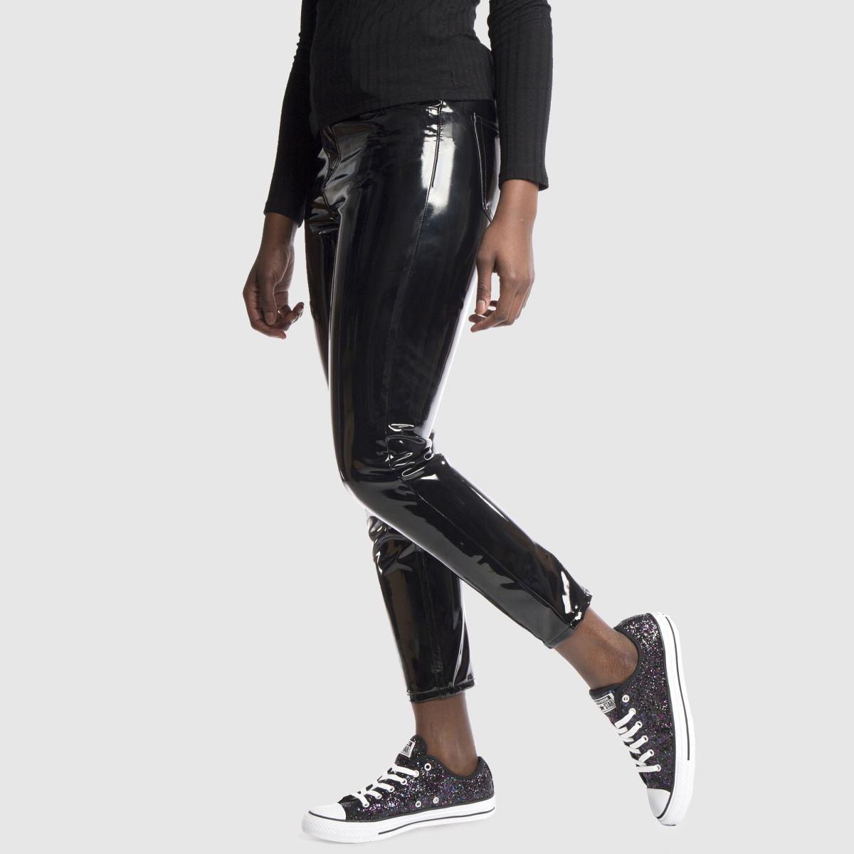 Damen Schwarz-violett converse All Star Glitter Ox Sneaker | schuh Gute Qualität beliebte Schuhe