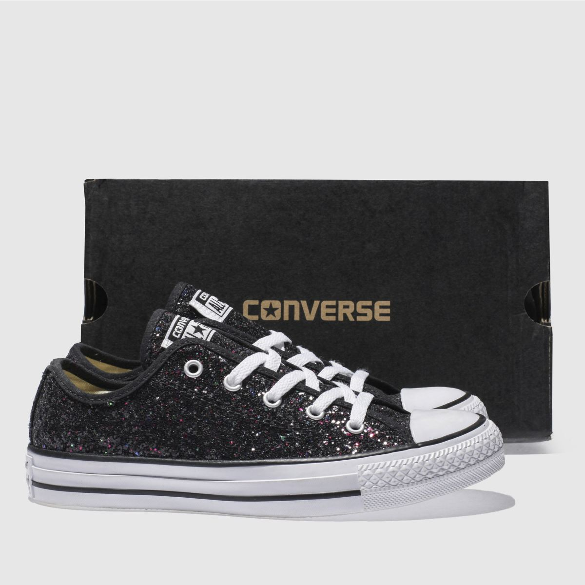 Converse all star glitter ox 4