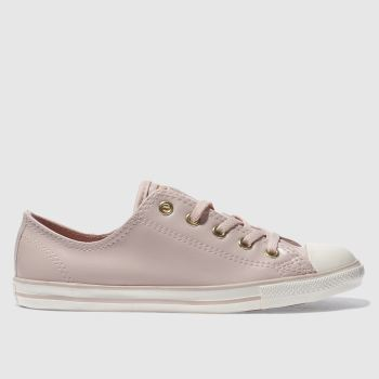 Converse Pink All Star Dainty Craft Ox Womens Trainers