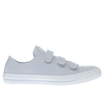 CONVERSE PALE BLUE ALL STAR 3V OX TRAINERS
