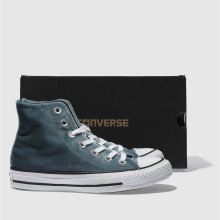 Converse all star velvet hi 1