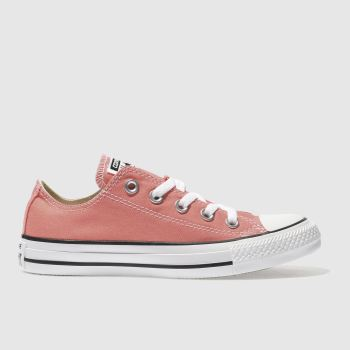 CONVERSE CORAL ALL STAR SUNBLUSH OX TRAINERS