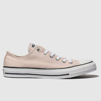Converse Nude Pink Chuck Taylor All Star Ox Womens Trainers