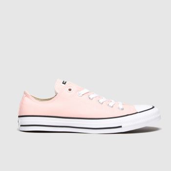 Converse Pink Chuck Taylor All Star Pow Ox Womens Trainers