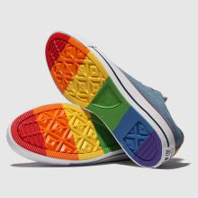 Converse all star denim rainbow ox 1