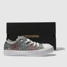 Converse all star stripe glitter ox 1