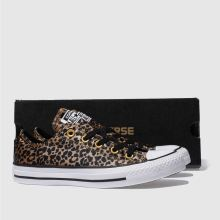 Converse all star leopard satin ox 1