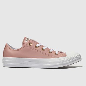 Converse Pink All Star Craft Ox Womens Trainers