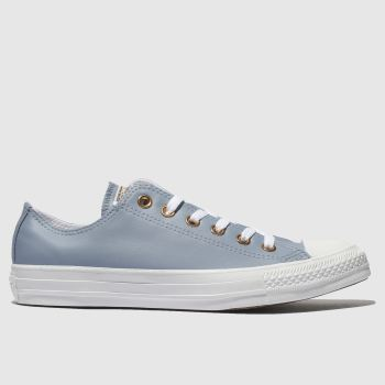 Converse Blue All Star Craft Ox Womens Trainers