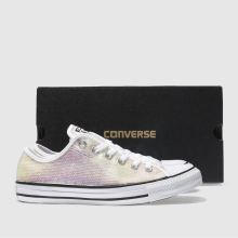 Converse all star sequin ox 1