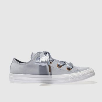 CONVERSE BLUE ALL STAR BIG EYELETS OX TRAINERS