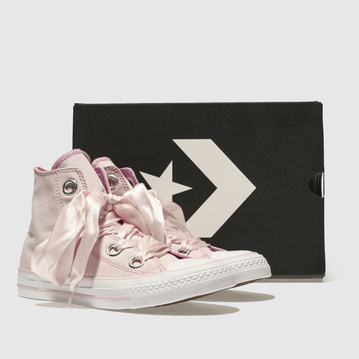 Damen Rosa converse Hi All Star Big Eyelets Hi converse Sneaker | schuh Gute Qualität beliebte Schuhe 5d8235