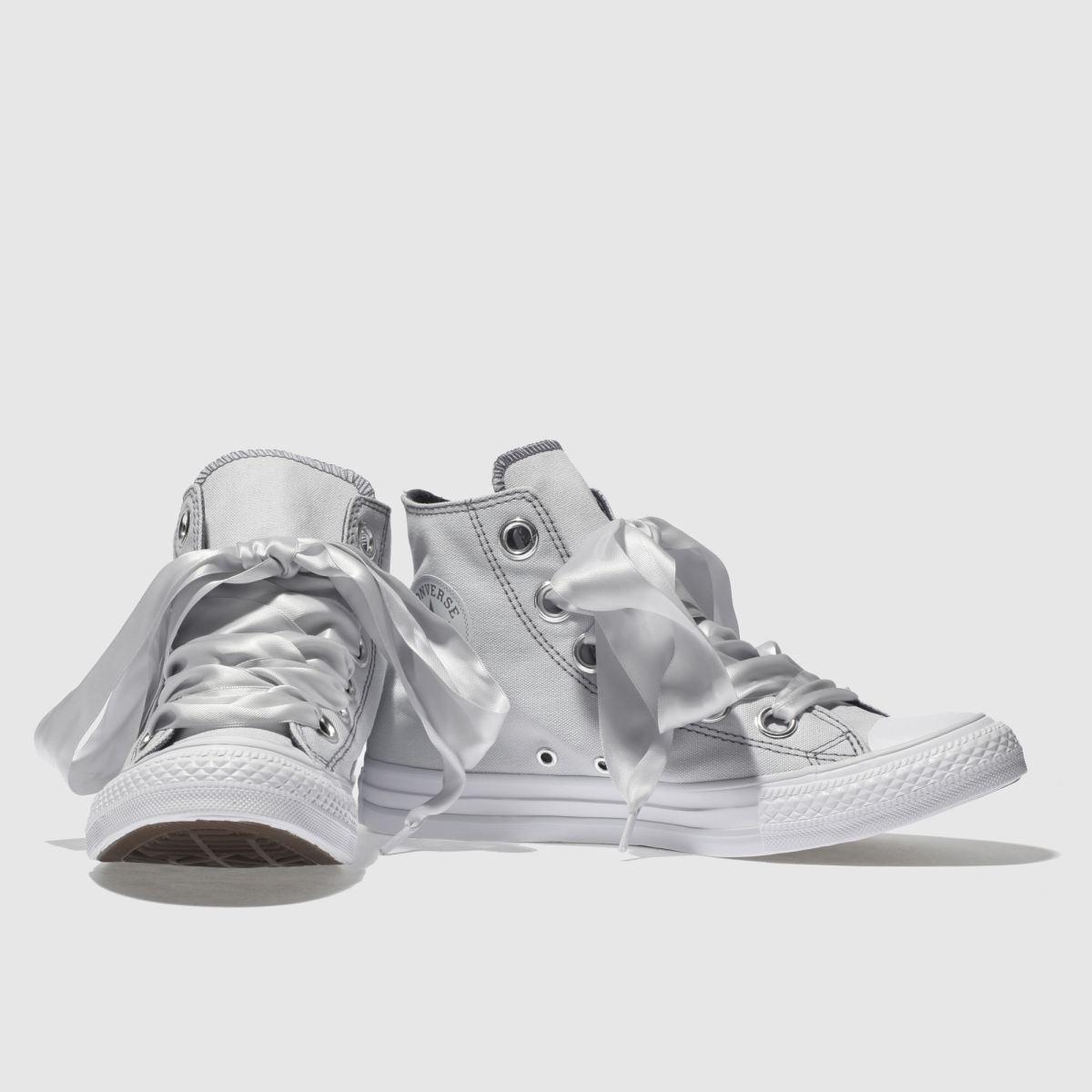 Damen Hellgrau Eyelets converse All Star Big Eyelets Hellgrau Hi Sneaker | schuh Gute Qualität beliebte Schuhe f82de0