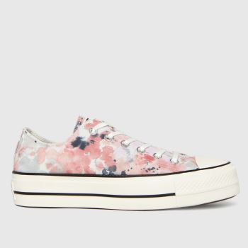Converse Multi Summer Fest Lift Ox Womens Trainers