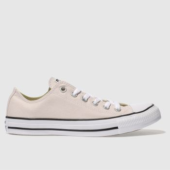 Converse Pale Pink All Star Mineral Shades Ox Womens Trainers