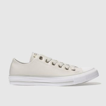 Converse Natural All Star Synthetic Ox Womens Trainers