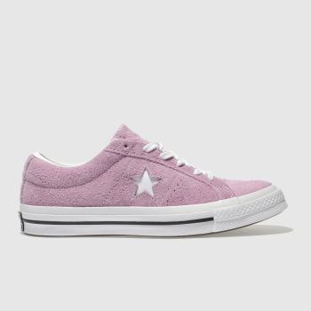 Converse Pink One Star Suede Ox Womens Trainers