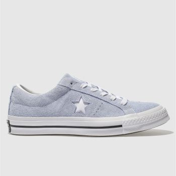 Converse Pale Blue ONE STAR SUEDE OX Trainers