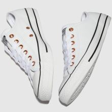 Converse rose gold eyelets ox 1