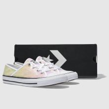 Converse all star coral ox sequins 1