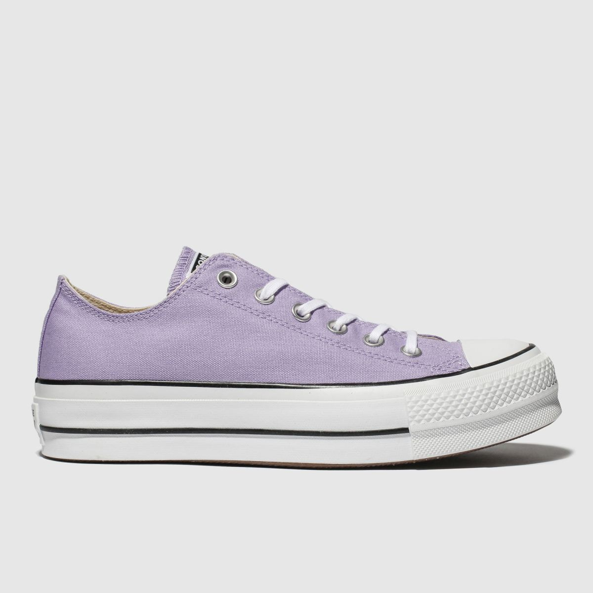 Converse Lilac Ox Lift Platform Trainers