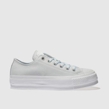 Converse Blue Ox Lift Platform Nubuck Womens Trainers