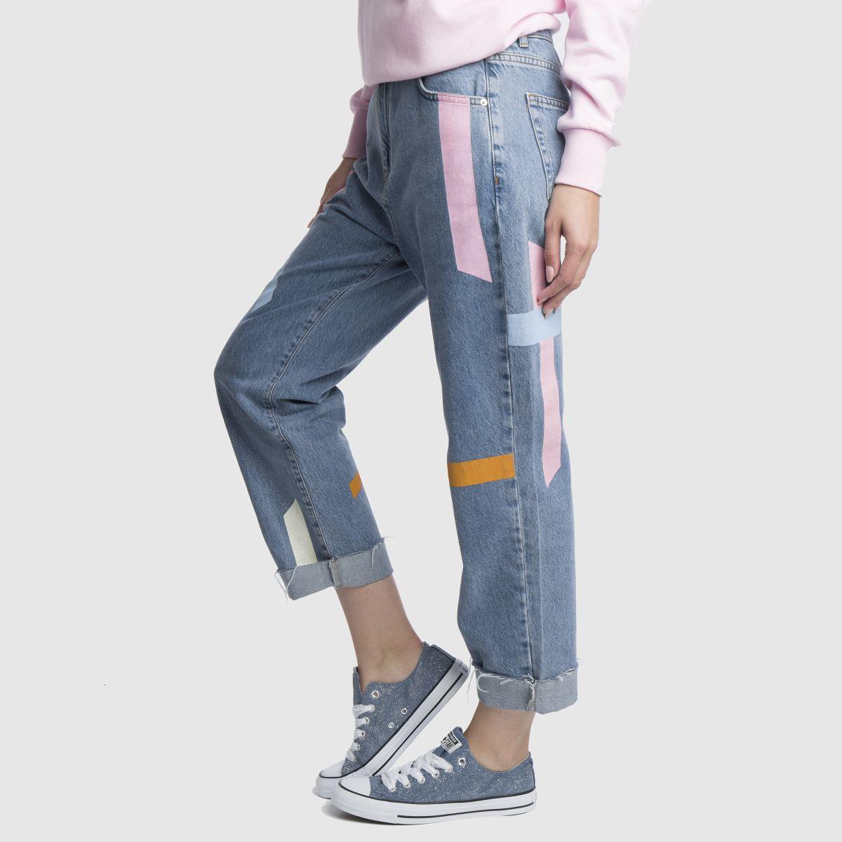 Damen Marineblau-weiß converse All Star Denim Glitter Ox Sneaker | schuh Gute Qualität beliebte Schuhe