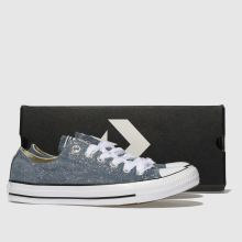 Converse all star denim glitter ox 1