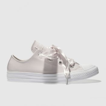 Converse Pale Pink Big Eyelet Patent Ox Womens Trainers