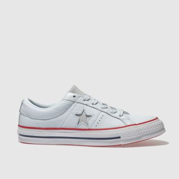 Converse Blue One Star Leather Ox Womens Trainers
