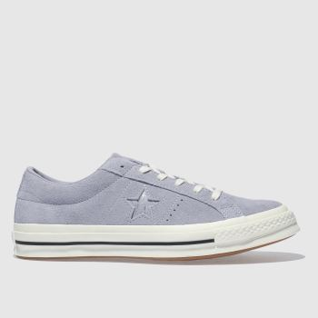 Converse Lilac One Star Ox Suede Womens Trainers