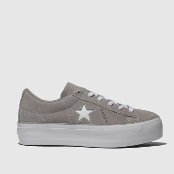 Converse Stone One Star Platform Ox Womens Trainers