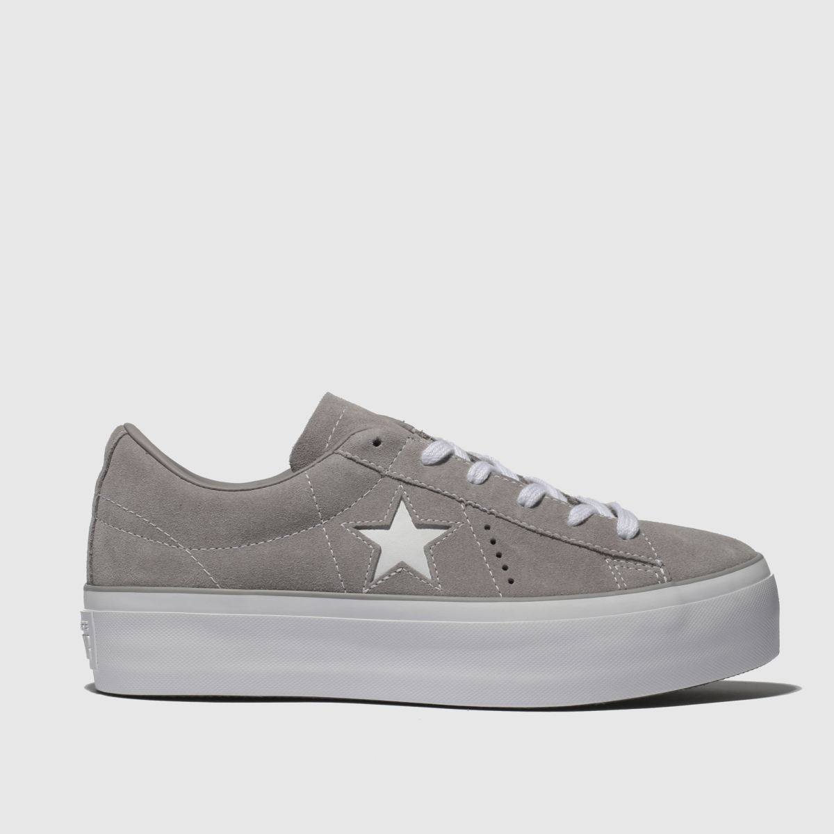 Converse Stone One Star Platform Ox Trainers