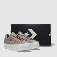 Converse one star platform ox 1