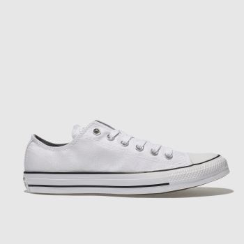 Converse White Chuck Taylor All Star Ox Womens Trainers