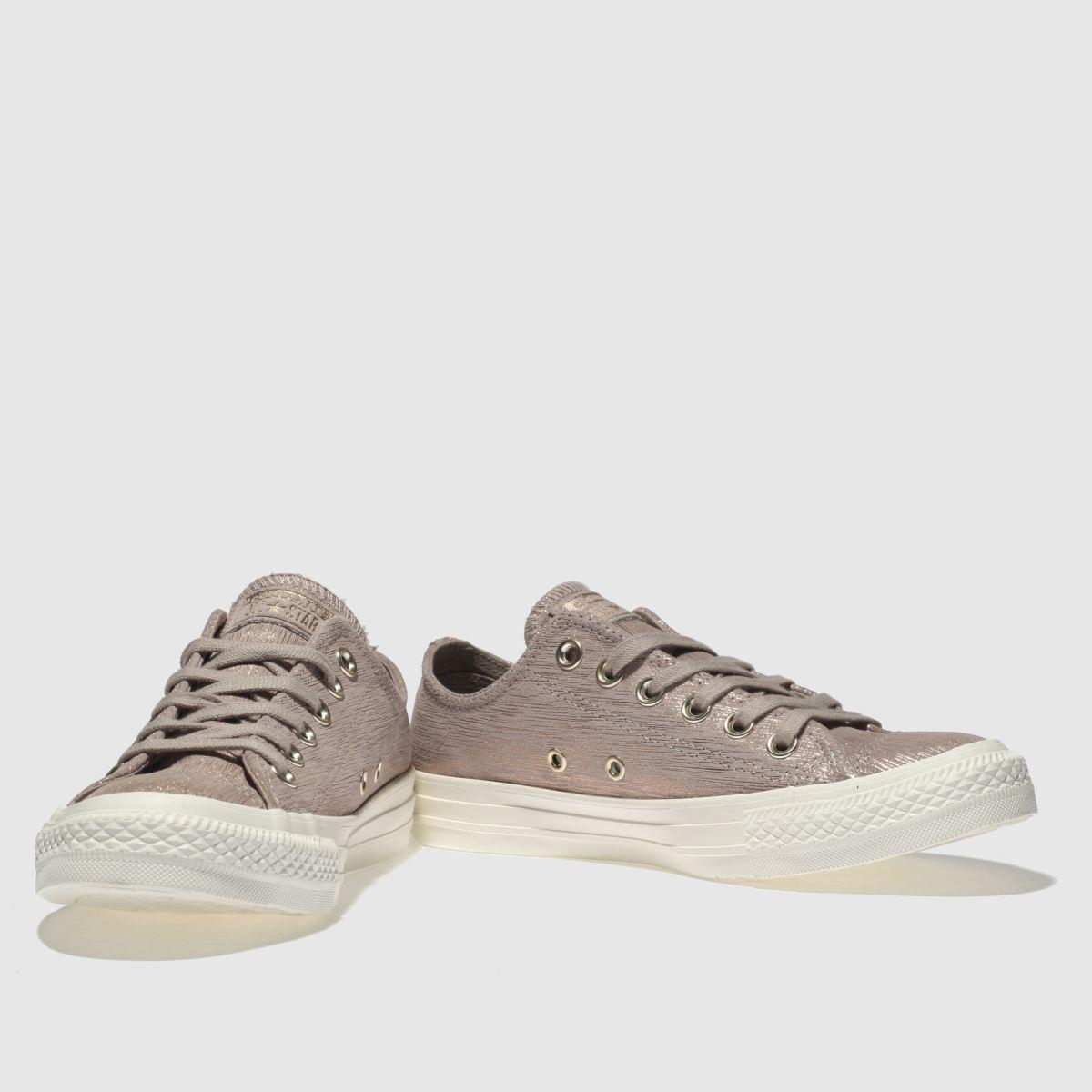 Damen Rosa converse All Star Ox Metallic Sneaker   schuh Gute Qualität beliebte Schuhe